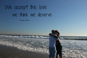 We accept the love..